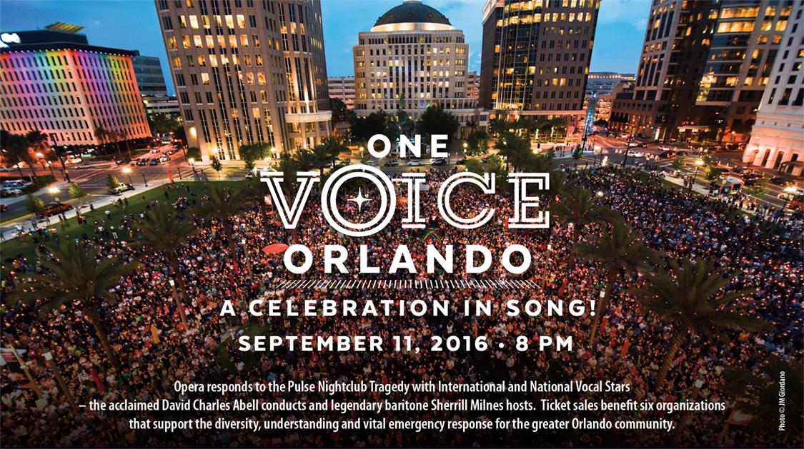 One Voice Orlando: Opera Responds to Pulse Tragedy