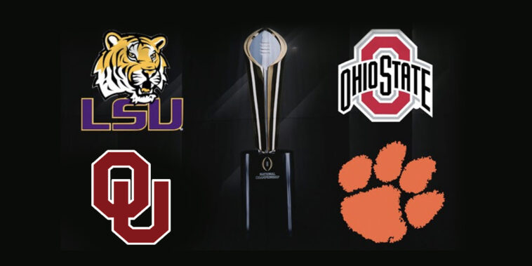 Ncaa Football Bowl Games 2020.2019 2020 College Football Bowl Game Schedule